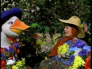 Bertram (left) and Mother Goose (right)