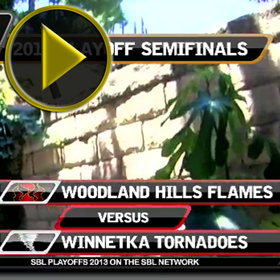 VIDEO: The 2013 SBL Playoffs Semifinals - Flames vs. Tornadoes