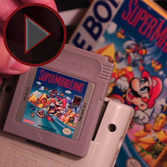 VIDEO: Handheld Niño - Super Mario Land